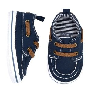 🌱 Carter's baby boy boat shoes
